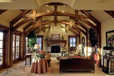 Timber Frame Sitting/Living Room