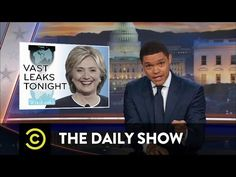 The Daily Show - More WikiLeaks Revelations About Hillary Clinton - YouTube