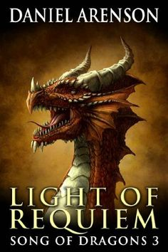 Light of Requiem (Song of Dragons, Book 3) by Daniel Arenson. $3.76. 256 pages. Author: Daniel Arenson Magical Creatures, Fantasy Creatures, Fairytale Creatures, Dragon Tales, Dragon's Lair, Dragon Pictures, Dinosaur Pictures, Legendary Creature, Beautiful Dragon