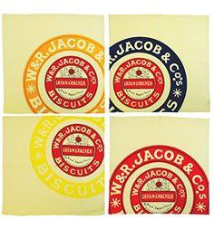 Jacobs Cream Crackers Set Of Four Napkins TruffleShuffle http://www.amazon.co.uk/dp/B00OES9AKU/ref=cm_sw_r_pi_dp_4hMtvb01AH9B1