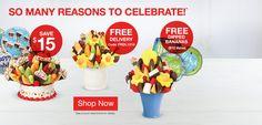 Edible Arrangements® Fruit Baskets & Bouquets, Chocolate Strawberries call 305-861-1771