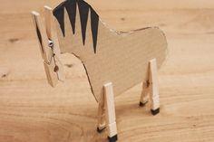 Vidéo bricolage: le cheval - Coopération - Le magazine hebdomadaire de la Coop