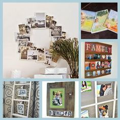 6 Creative Photo Displays | Home and Garden | CraftGossip.com