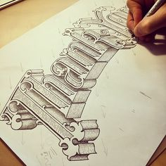 Fantastic lettering from Tobias Hall. http://www.tobias-hall.co.uk/