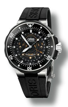 Oris ProDiver Pointer Moon Goes Where No Watch Has Gone Before