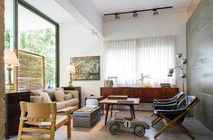 אור בקצה המסדרון: דירה תל אביבית הפוכה | בניין ודיור