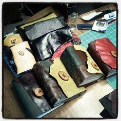 Handmade journals by Conduit Press