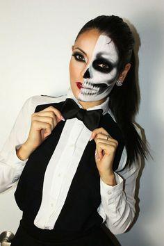 15 machiaje spectaculoase de Halloween