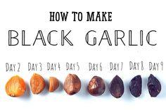 How to make Black Garlic at home