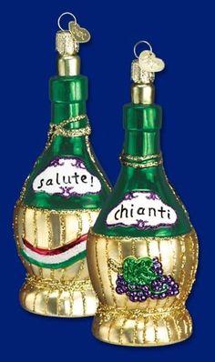 Italian glass ornament.