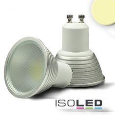 GU10 LED Strahler 5 Watt, warmweiss, dimmbar / LED24-LED Shop