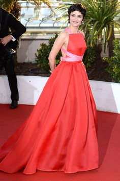 Audrey Tatou in Prada -Cannes Film Festival 2013