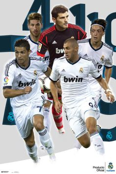 'Real Madrid Players-2012-2013' Posters    AllPosters.com