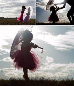 beautiful girl - love this photo idea!