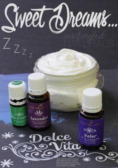 Sweet Dream Cream using essential oils