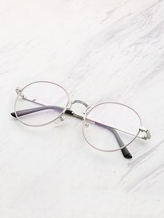 c903b2861b Shein Metal Frame Clear Lens Round Glasses New Glasses