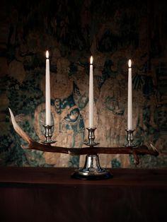 Straton Horn Candlestick Trio -  Ralph Lauren
