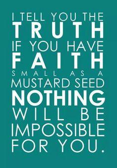 Truth and faith