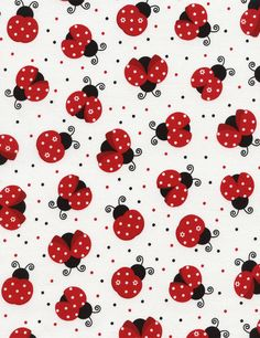 Timeless Treasures | Lady Bugs