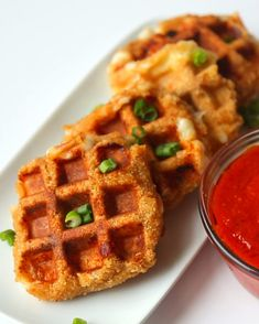 Mozzarella Stick Waffles | Your Life Will Be Changed Forever After Tasting These Mozzarella Stick Waffles