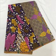 Holland Dutch Real African Wax Ankara Fabric 6yards LSCW-133 Ankara Fabric…