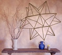 Origami Star Geometric Vinyl Wall Decal by RadRaspberry on Etsy, $21.50 http://www.etsy.com/listing/83067973/origami-star-geometric-vinyl-wall-decal?ref=shop_home_active_6