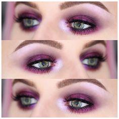 "111 Likes, 8 Comments - S A M A N T H A   J A N E (@scolvinbeauty) on Instagram: ""✖️ P U R P L E  S M O K E S ✖️ Details: @maccosmetics Prep + Prime Eye Base, Permaplum Eye Pencil…"""
