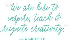 Lia Griffith Lia Griffith is a designer, maker and handcrafted lifestyle expert who began blogging to share her unique DIY paper flower designs.