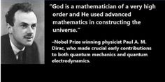 god is in math