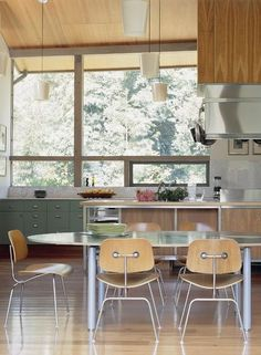 Mid Century Modern Kitchen Chairs Ninja Mega Complete System 1500 58 Best Windows Images House By Koning Eizenberg Architecture Design