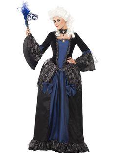 Womenu0027s Baroque Beauty Masquerade Costume  sc 1 st  Pinterest & Plus Size Mysterious Masquerade Costume | Halloween - Costumes ...