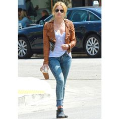 Ashley Benson's street style ❤ liked on Polyvore featuring ashley benson