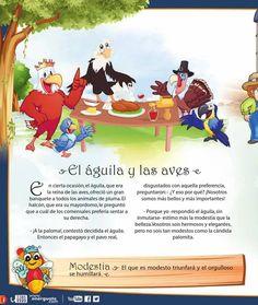 El águila y las aves MODESTIA