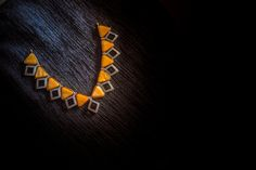 yellow and black Baubles www.shopzters