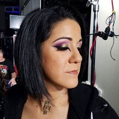Gorgeous queen right there👑💕 . Short Curly Bob, Short Curly Styles, Bailey Wwe, Pamela Rose Martinez, Shayna Baszler, Wwe Female Wrestlers, Kevin Owens, Raw Women's Champion, Wrestling Wwe