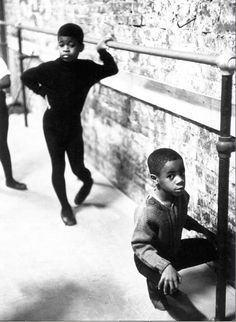 Harlem ballet class, 1968. Photo by Eve Arnold as part of the Black is Beautiful series.