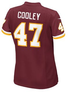 Ladies Nike Game Home Chris Cooley Jersey