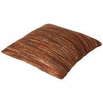 line Melange copper cushion  45 x 45 cm Price: 59 euro - PTMD