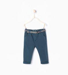 ZARA - KIDS - Trousers with belt