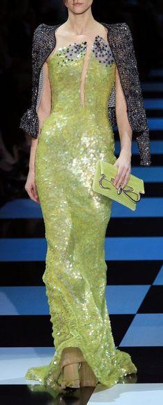 Armani Privé Haute Couture S/S 2012
