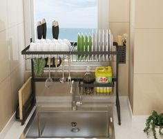 Stainless Steel Drain Rack — Botanika Home