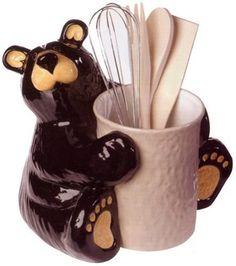 Bear Foot Bears Kitchen Utensil Holder , http://www.amazon.com/dp/B0014B1QPW/ref=cm_sw_r_pi_dp_FBf8qb1EY4T1N