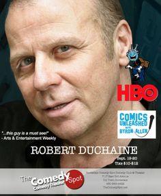 Scottsdale Comedy Spot presents Robert Duchaine - SCOTTSDALE - COMEDY - http://thecomedyspot.net/shows/scottsdale-comedy-spot-presents-robert-duchaine/