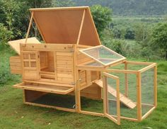 HEN HOUSE CHICKEN COOP POULTRY ARK HOME NEST RUN COUP | eBay