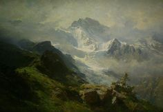 The Jungfrau - Edward Theodore Compton Manchester Gallery