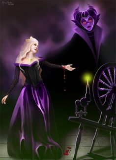 Maleficent - disney-villains Fan Art