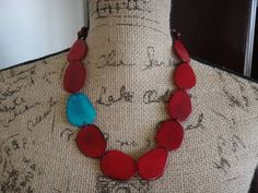 tagua seed necklace