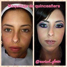 Maquillaje para quinceañera  #makeup