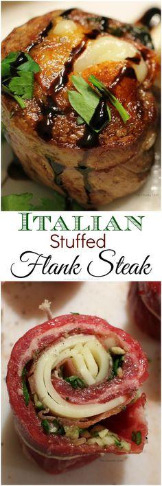 Stuffed Flank Steak #lowcarb