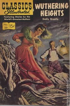 Wuthering Heights, illustrated classics